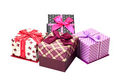 Group of gift box Royalty Free Stock Image