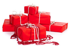 Group of gift-boxes Stock Photo