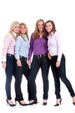 Group of girlfriends Stock Photography