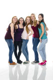 Group of Girlfriends Stock Photo