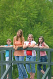 Group of Girls Royalty Free Stock Photo