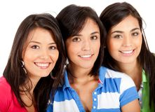 Group of girls Stock Photo