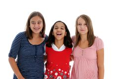 Group of Girls Royalty Free Stock Photos