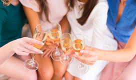 Group of girls Stock Images