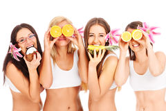 Group of girls Stock Image