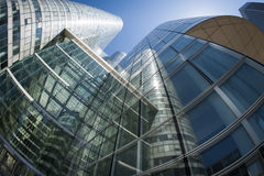 Group of glass business buildings Royalty Free Stock Photography