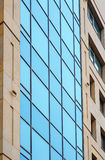 Group of glass windows on modern building for office Royalty Free Stock Photos
