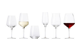 Group of glasses Stock Photography