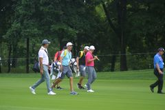 2018 PGA Championship Bellerive Country Club stock images