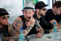 Group Good Charlotte Stock Images