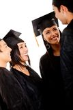 Group of graduates Stock Photography