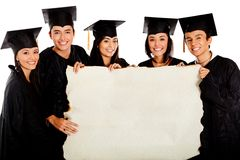 Group of graduates Stock Images