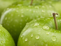 Group of green apples Royalty Free Stock Images