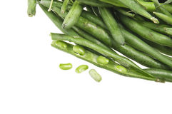 Group of green beans Royalty Free Stock Photo