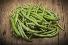 Group of green beans Royalty Free Stock Image