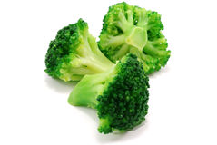 Group of green broccoli royalty free stock photo