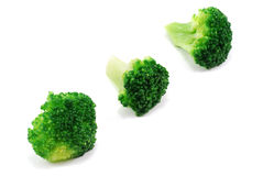 Group of green broccoli Stock Image