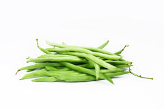 A group green runner beans Royalty Free Stock Photography