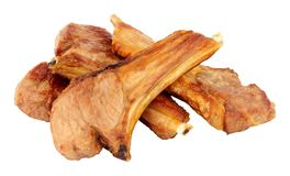 Grilled Lamb Cutlets Royalty Free Stock Images