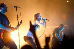 Group Guano Apes Stock Photo