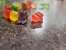 Group of gummy bears royalty free stock images