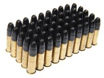 Group of  gun cartridge. Royalty Free Stock Images