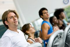 Group at the gym Stock Photography