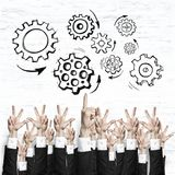 Business and teamwork concept Stock Photo
