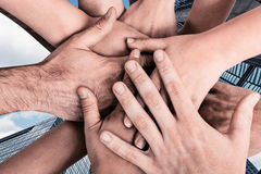 Group of hands Royalty Free Stock Photo
