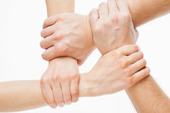 Group of hands Stock Image
