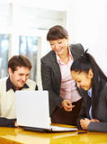 Group of happy business people Stock Photo