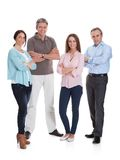 Group of happy businesspeople Stock Photography
