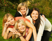 Group of happy friends Royalty Free Stock Photo