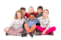 Group of happy kids Stock Image
