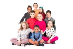Group of happy kids Stock Photos