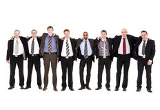 Group of happy men Stock Photo