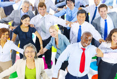 Group Of Happy Multi-Ethnic Business People Stock Photos