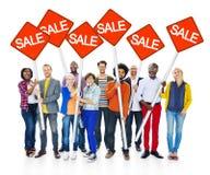 Group Of Happy Multi-Ethnic People Stock Photos