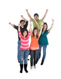Group of happy people Royalty Free Stock Image