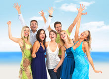 Group of happy people. Royalty Free Stock Photography