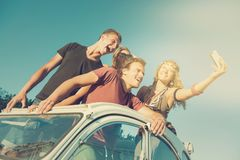 Friends on vacations Royalty Free Stock Photography