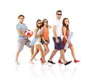 Group of happy students Stock Photography