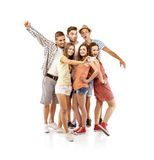 Group of happy students Royalty Free Stock Photography