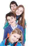 Group of happy young Royalty Free Stock Images
