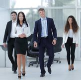 Group of happy young business people Royalty Free Stock Photography