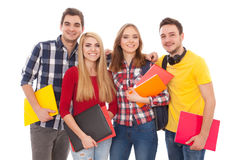 Group of happy young people Royalty Free Stock Photos