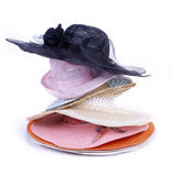 Group hats Royalty Free Stock Photos