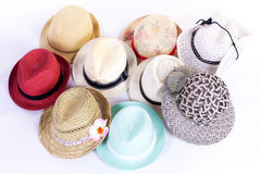 Group hats Royalty Free Stock Image