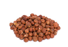 Group Of Hazelnuts Stock Photo