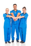 Group healthcare professionals royalty free stock photos